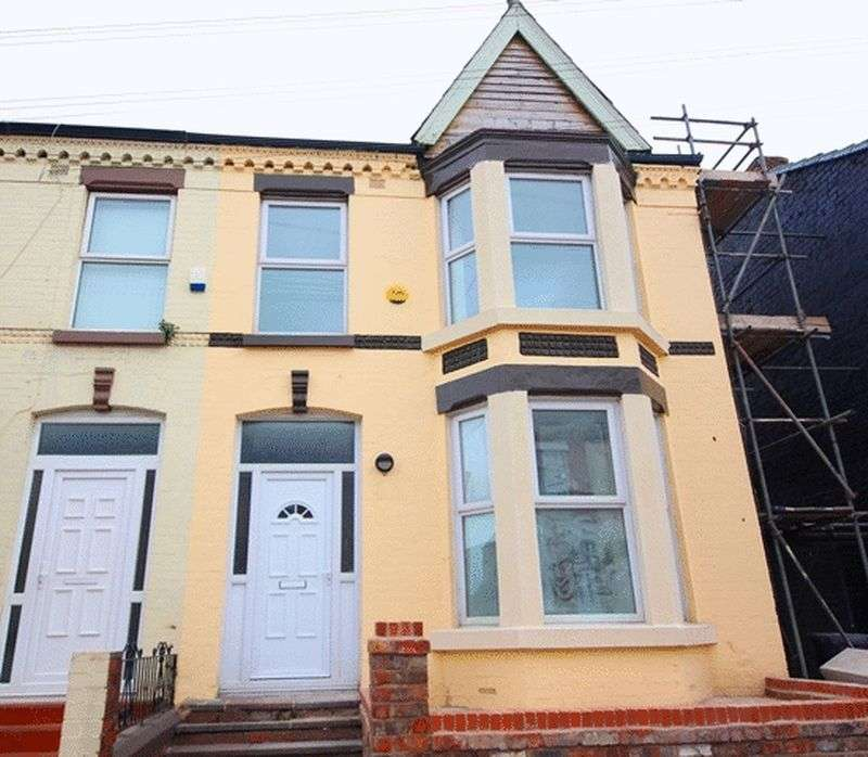 3 Bedrooms Terraced House for sale in Thornycroft Road, Wavertree, Liverpool, L15