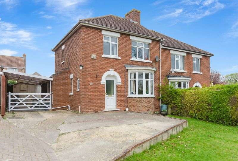 3 Bedrooms Semi Detached House for sale in Langton Hill, Horncastle