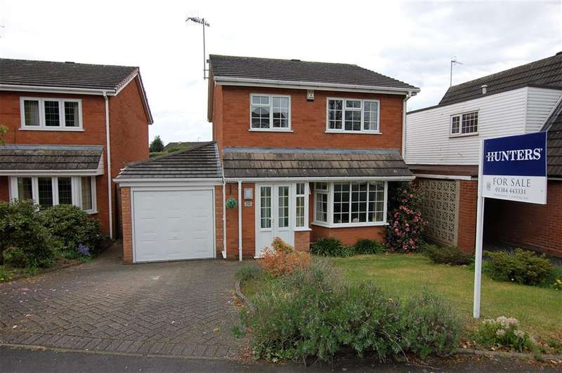 3 Bedrooms Detached House for sale in Chingford Close, Wordsley, DY8 5PA