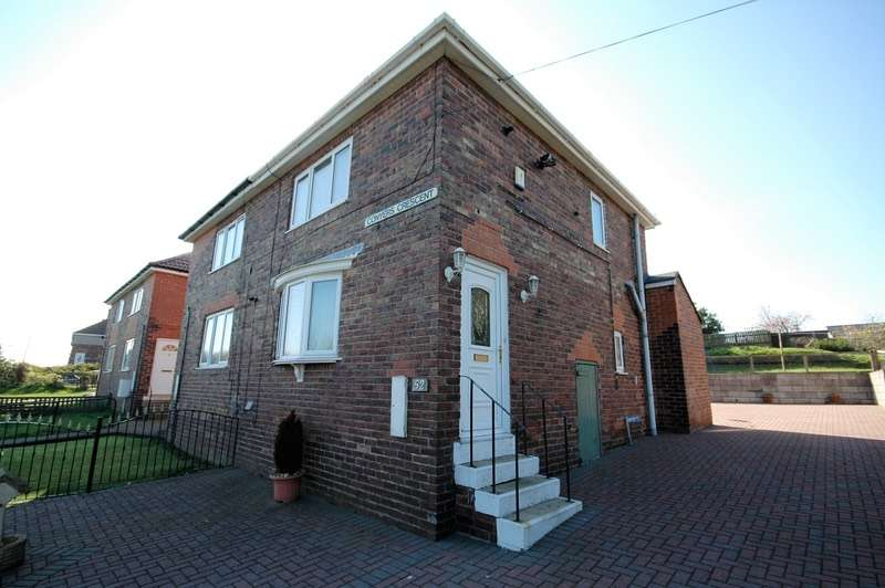 2 Bedrooms Semi Detached House for sale in Conyers Crescent, Horden, County Durham, SR8