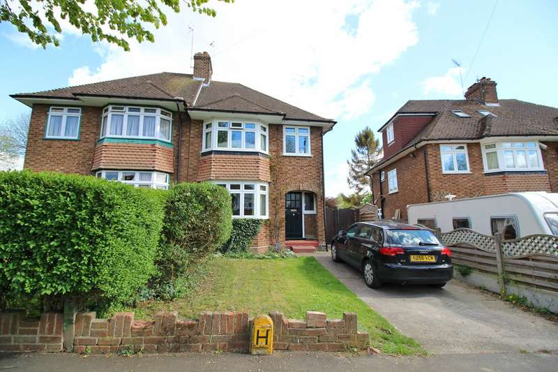 3 Bedrooms Semi Detached House for sale in Hampden Road, Hitchin, SG4