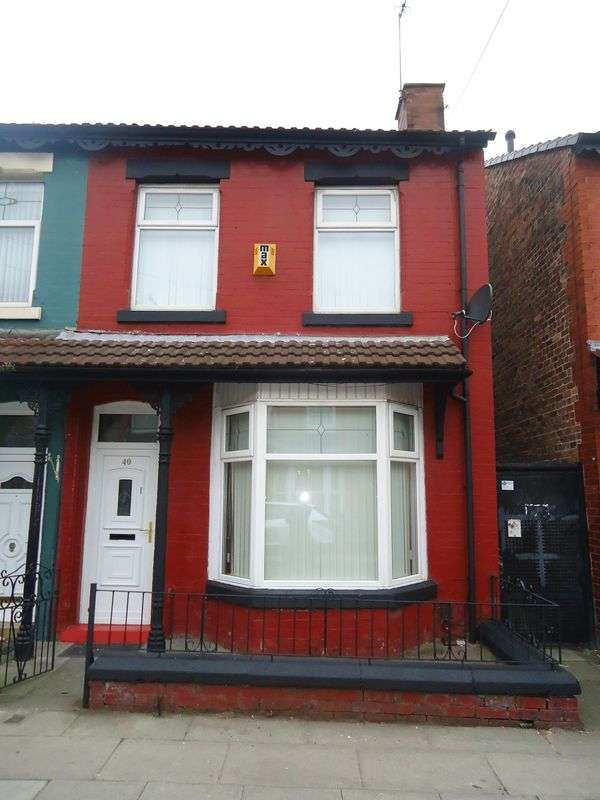 3 Bedrooms Terraced House for sale in Leinster Road, Liverpool