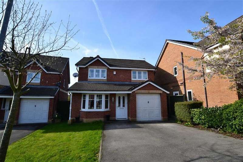 3 Bedrooms Detached House for sale in Redhouse Close, Clayton-le-Moors, Lancashire