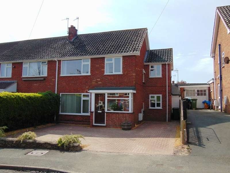4 Bedrooms Semi Detached House for sale in Brookedale, Harvington