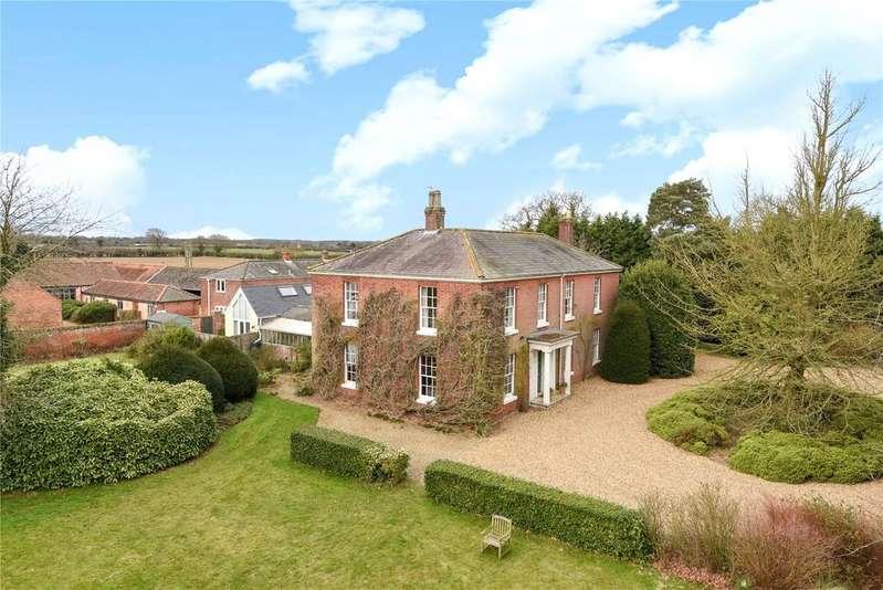 6 Bedrooms Detached House for sale in Vicarage Lane, Tunstead, Norfolk