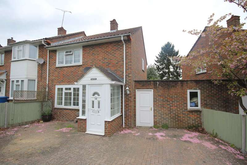 2 Bedrooms End Of Terrace House for sale in Mansfield Crescent, Bracknell