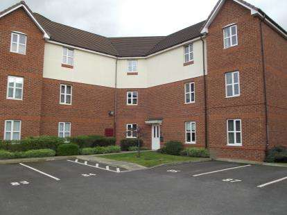 2 Bedrooms Flat for sale in Larne Court, Widnes, Cheshire, WA8
