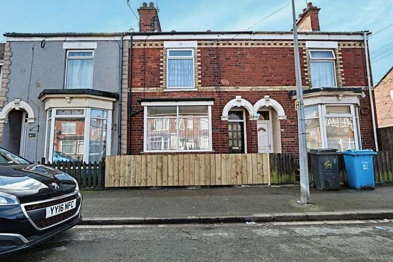 2 Bedrooms Terraced House for sale in Ceylon Street, Hull