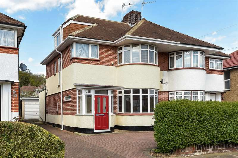 4 Bedrooms Semi Detached House for sale in St Edmunds Drive, Stanmore, Middlesex, HA7