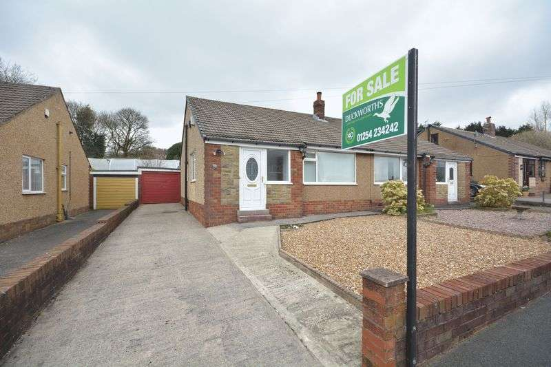 2 Bedrooms Semi Detached Bungalow for sale in Cunliffe Close, Blackburn