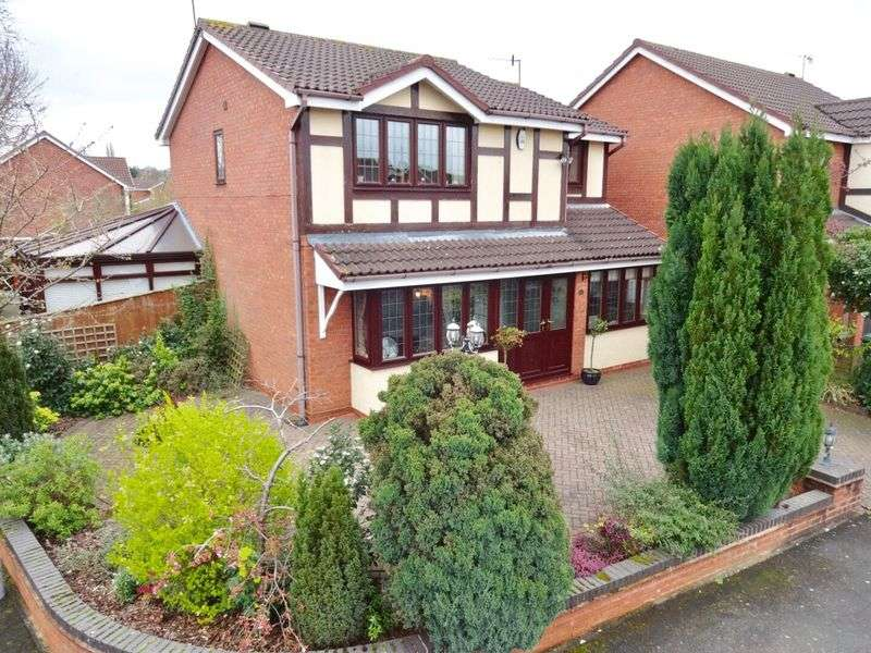 4 Bedrooms Detached House for sale in Victory Close, Stourport-On-Severn DY13 9RN
