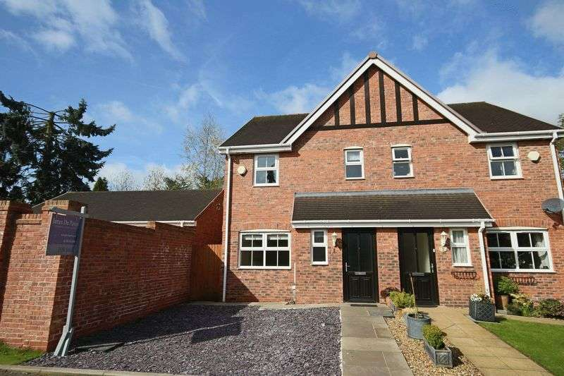 3 Bedrooms Semi Detached House for sale in Green Lane, Eccleshall, Stafford