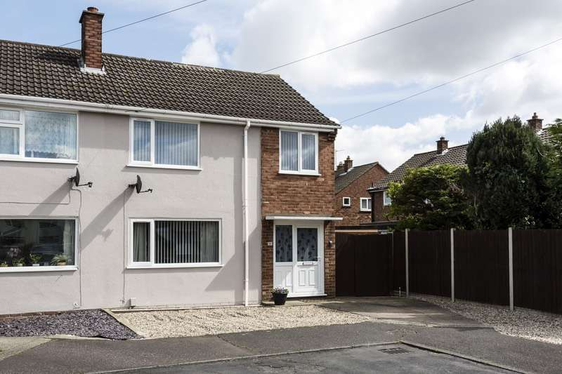 3 Bedrooms Semi Detached House for sale in Moorland Close, Norwich, Norfolk, NR7