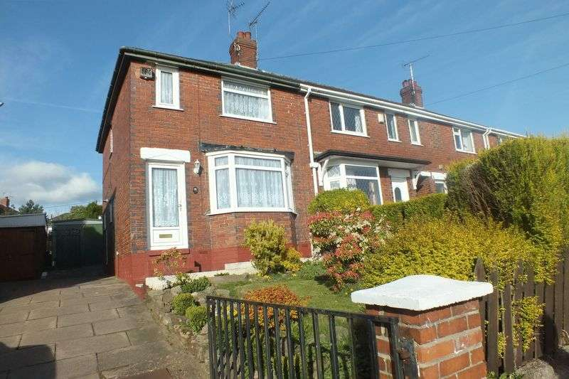 3 Bedrooms Semi Detached House for sale in Colley Road, Chell, Stoke-On-Trent