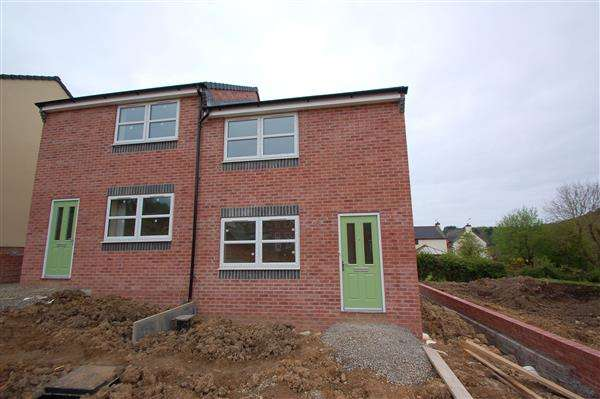 2 Bedrooms Semi Detached House for sale in EDMUNDS WAY, CINDERFORD