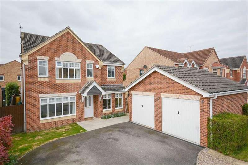 4 Bedrooms Detached House for sale in Old Tannery Drive, Lowdham