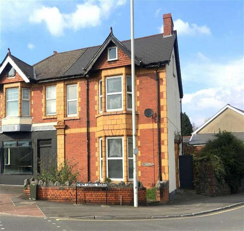 4 Bedrooms Semi Detached House for sale in Central Buildings, Swansea, SA5