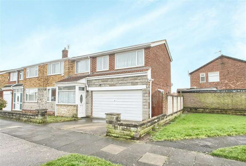 4 Bedrooms Semi Detached House for sale in Bader Avenue, Thornaby