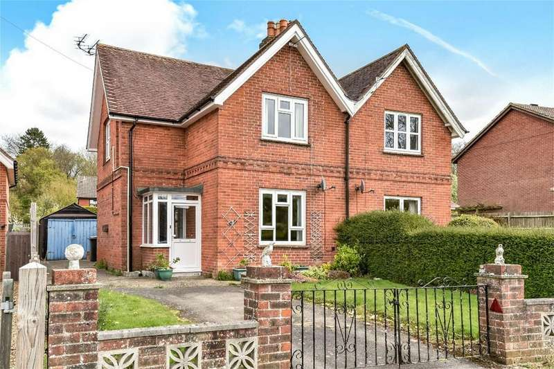 3 Bedrooms Semi Detached House for sale in Otterbourne, Winchester, Hampshire