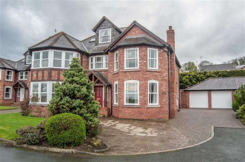 5 Bedrooms Detached House for sale in Village Walks, Marford, Wrexham, Marford