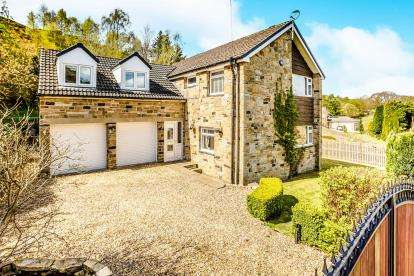 5 Bedrooms Detached House for sale in Upper Clough, Linthwaite, Huddersfield, West Yorkshire