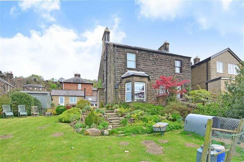 4 Bedrooms Semi Detached House for sale in 17, The Hollins, Holloway, Matlock, Derbyshire, DE4