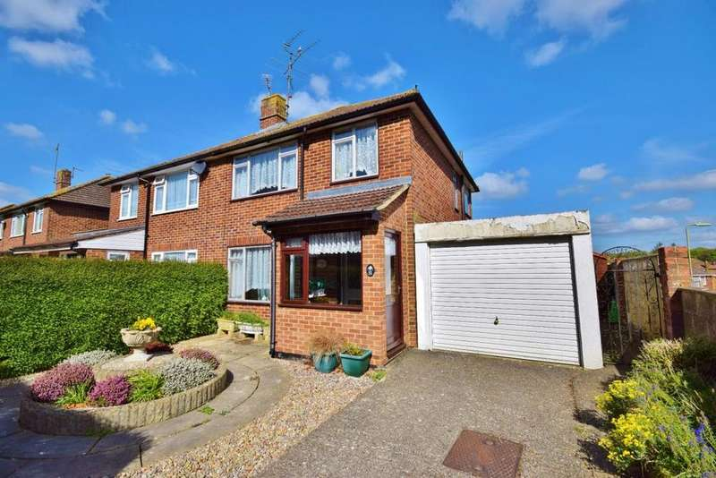3 Bedrooms Semi Detached House for sale in Clarke Estate, Basingstoke, RG23
