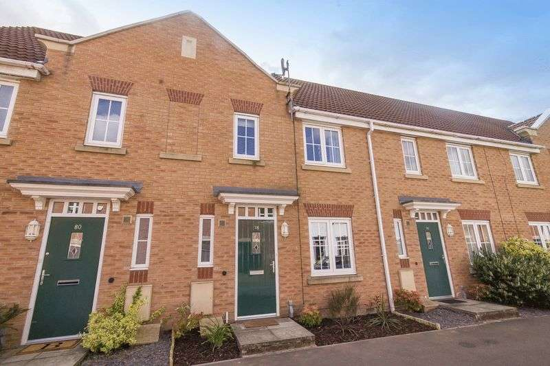 3 Bedrooms Terraced House for sale in PACIFIC WAY, CITY POINT, DERBY