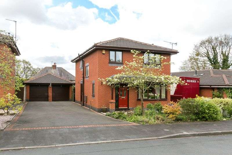 4 Bedrooms Detached House for sale in Finch Mill Avenue, Appley Bridge, WN6 9DF