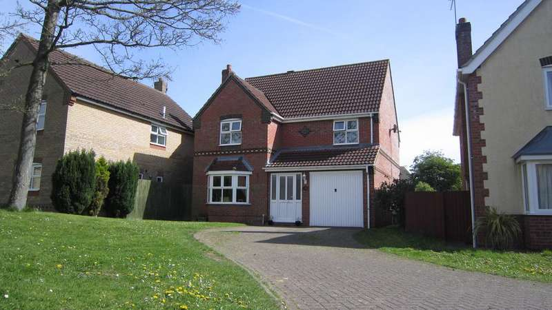 4 Bedrooms Detached House for sale in Lichfield Road, Bracebridge Heath, Lincoln LN4