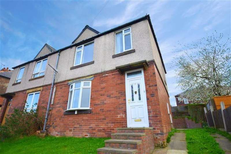 3 Bedrooms Semi Detached House for sale in Sheldon Road, Stocksbridge, Sheffield, S36