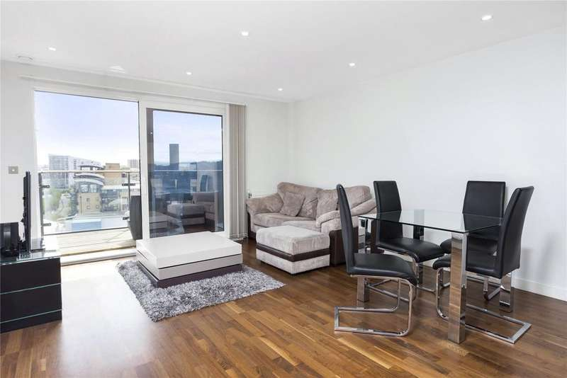1 Bedroom Flat for sale in Wharf Street, London, SE8