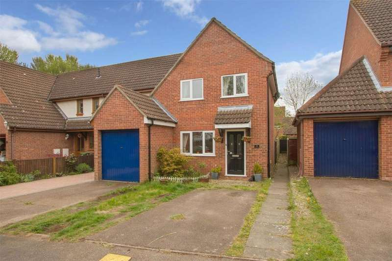 2 Bedrooms End Of Terrace House for sale in Briton Way, Wymondham, Norfolk