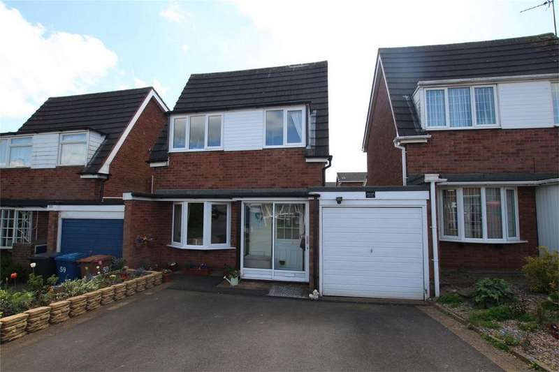 3 Bedrooms Detached House for sale in Giles Road, Lichfield, Staffordshire