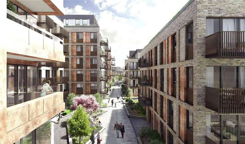 2 Bedrooms Flat for sale in Anthology, Deptford Foundry, Moulding Lane, London, SE8