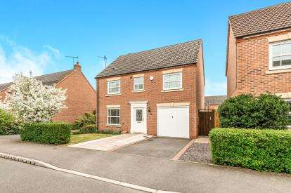 4 Bedrooms Detached House for sale in Leylands Way, Warwick
