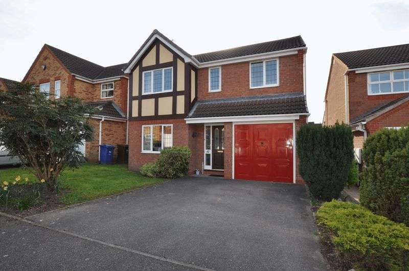 4 Bedrooms Detached House for sale in Ratcliffe Avenue, Branston