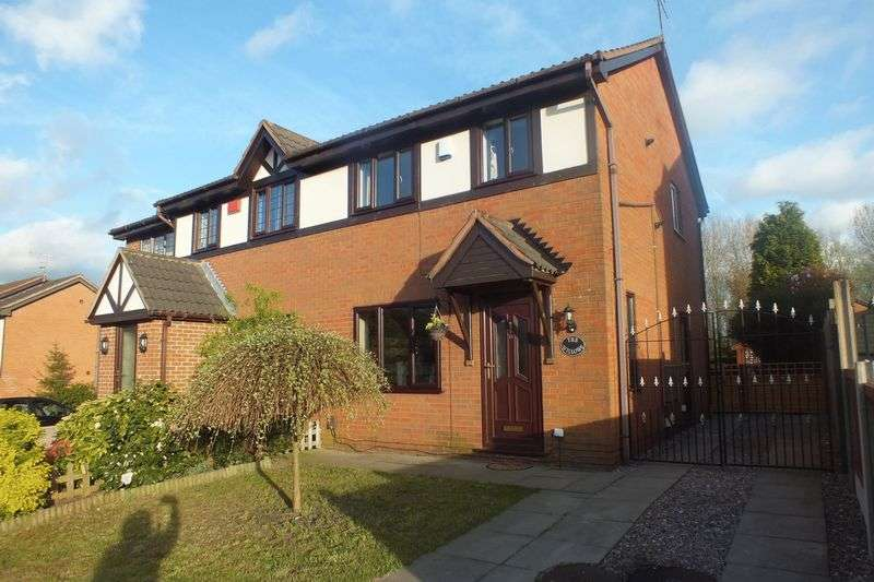 3 Bedrooms Semi Detached House for sale in Harlequin Drive, Bradeley, Stoke-On-Trent