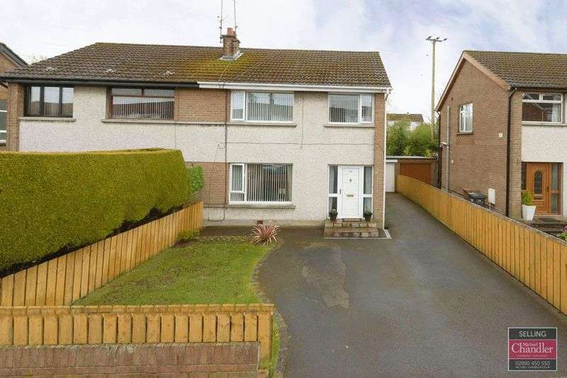 3 Bedrooms Semi Detached House for sale in 36 Marlborough Park, Carryduff, BT8 8NL