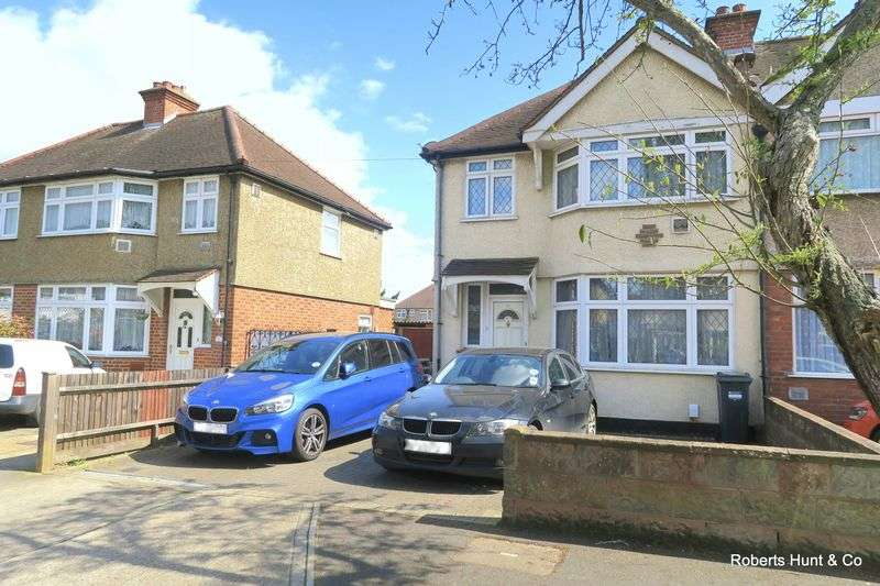 3 Bedrooms Semi Detached House for sale in BEDFONT