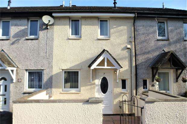 2 Bedrooms Terraced House for sale in Cedar Close, Callington, Cornwall