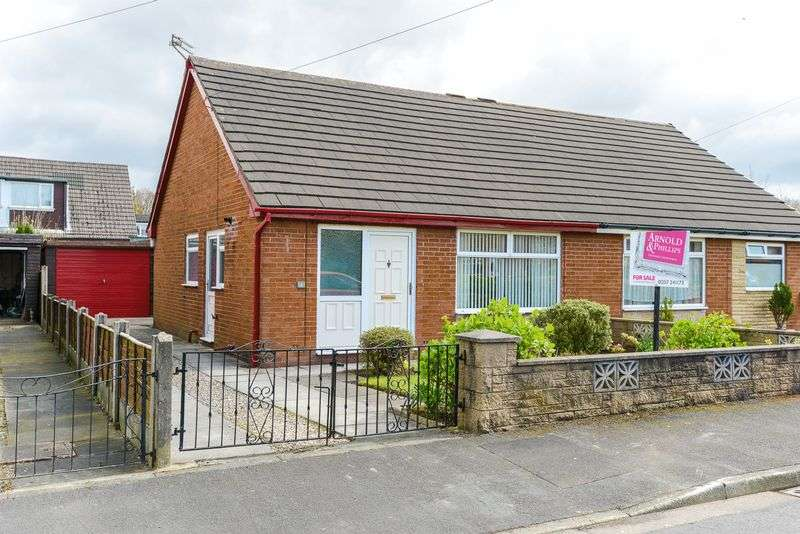 2 Bedrooms Semi Detached Bungalow for sale in Holly Crescent, Coppull