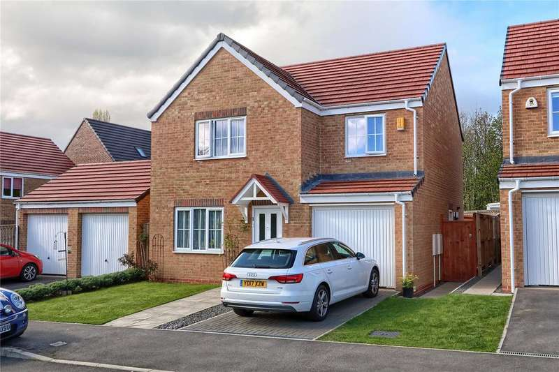 4 Bedrooms Detached House for sale in Corporal Roberts Close, Hemlington