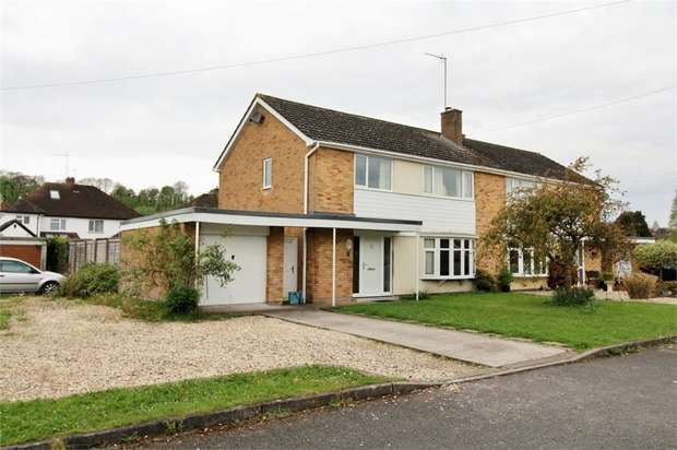 4 Bedrooms Semi Detached House for sale in Clos Croeso, USK, Monmouthshire
