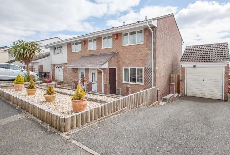 3 Bedrooms Semi Detached House for sale in Woolwell, Plymouth