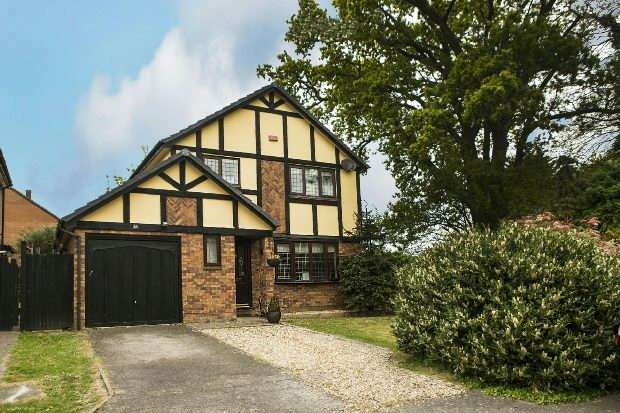 4 Bedrooms Detached House for sale in Measham Way Lower Earley Reading
