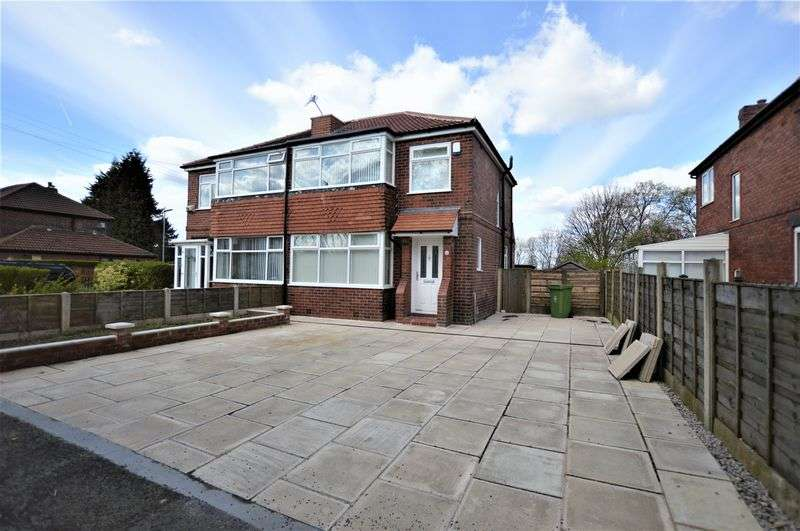 3 Bedrooms Semi Detached House for sale in Ardcombe Avenue, Higher Blackley, Manchester