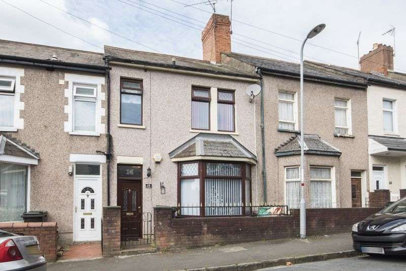3 Bedrooms Terraced House for sale in Arundel Road, Newport
