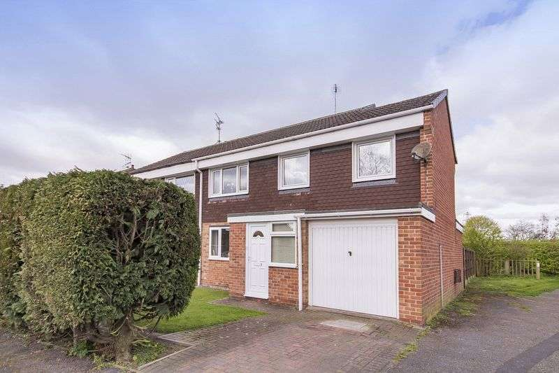 3 Bedrooms Semi Detached House for sale in NEVIS CLOSE, STENSON FIELDS