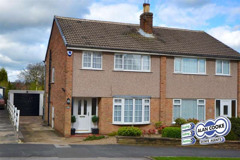 3 Bedrooms Semi Detached House for sale in Linton Avenue, Alwoodley, Leeds